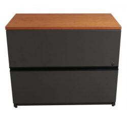 Steelcase Used 2 Drawer 36 Inch Lateral File