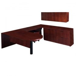 Steelcase Garland Used U Bullet Desk Right Return
