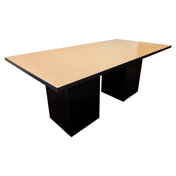 6 Foot Used Rectangle Shape Conference Table Maple