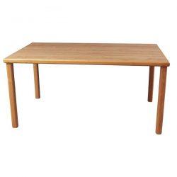 60 Inch Used Break Room Table Oak