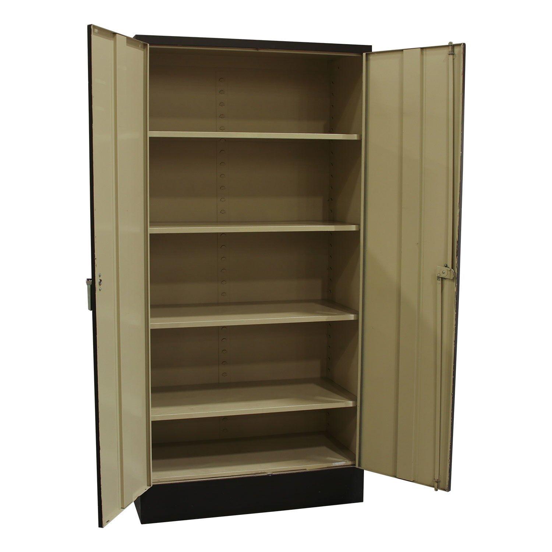 Devon Used 72 Inch Storage Cabinet, Black - National ...