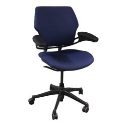 Humanscale Freedom Used Mid Back Task Chair Purple