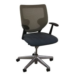 Keilhauer Simple Used Green Mesh Back Conference Chair