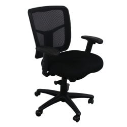 Mesh Back Used Task Chair Black
