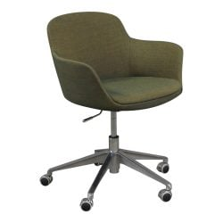 Brayton Paulina Used Conference Chair Dark Green