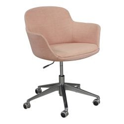 Brayton Paulina Used Conference Chair Dusty Rose