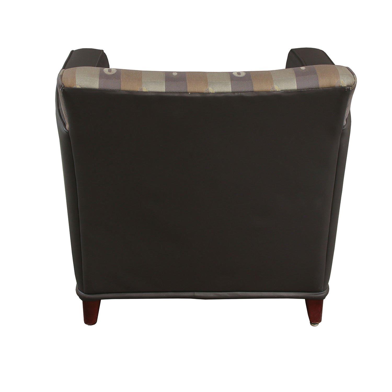 Carolina Furniture Used Reception Chair, Dark Gray