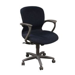 Haworth Improv Desk Used Conference Chair Blue