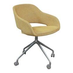 Source Seating Martini Used Executive Chair Yellow