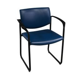 Steelcase Player Used Stack Chair Blue