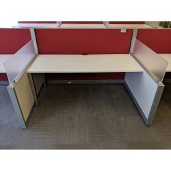 Steelcase Answer 6x4 Used Cubicle - Sold in Pods
