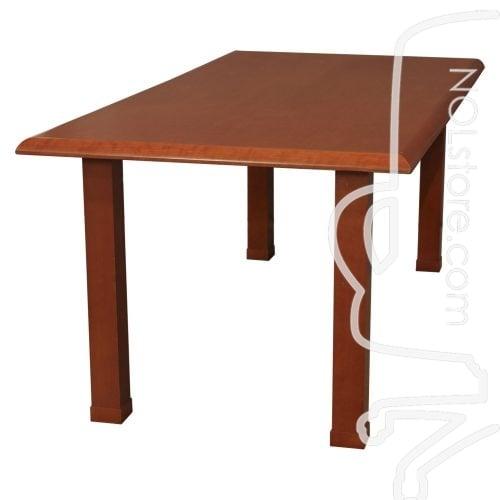 Wood Veneer Used 6 Foot Rectangle Meeting Table Cherry