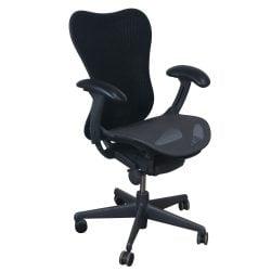 Herman Miller Mirra 2 Used Mesh AirWeave Seat Task Chair, Graphite