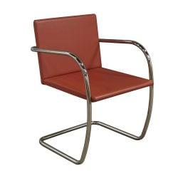 Knoll Brno Used Sled Base Side Chair Prairie