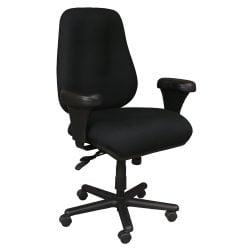Neutral Posture Used Big and Tall Task Chair, Black