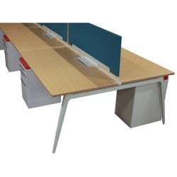 Friant Verity 30x60 Bench Style Desk Station - Sold as a pod of 8