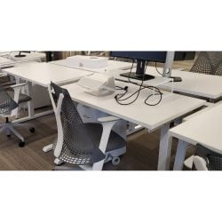 Steelcase Turnstone Bivi Used Open Benching - Pod of 4