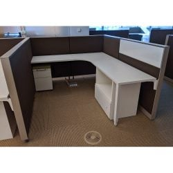 Herman Miller 7x6 Used Canvas Cubicles - sold in pods