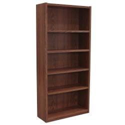 Laminate Used 72 Inch Bookcase, Oak