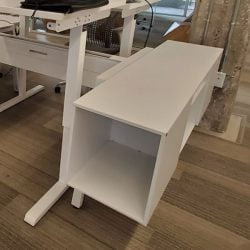 Steelcase Turnstone Bivi Used End Cap Storage, White