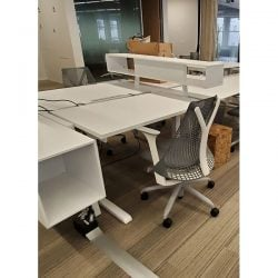 Steelcase Turnstone Bivi Used Open Benching w Storage - Pod of 12