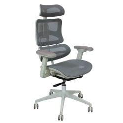 Triton by goSIT Mesh High Back Task Chair, Gray