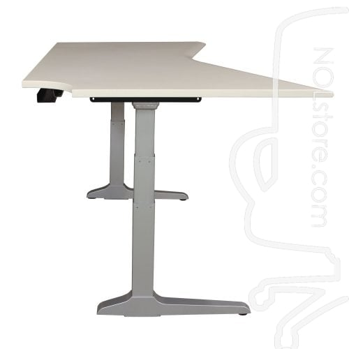 Workrite Used 41x67 Electric Sit Stand Table, White