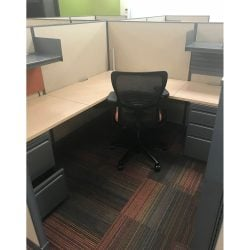 6x7 UniGroup Used Cubicles By Haworth Sold in Pods
