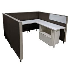 Herman Miller 6x6 Used Canvas Cubicles