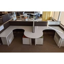 Herman Miller 7x6 Used Canvas Team Stations