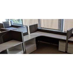 Herman Miller 7x7 Used Canvas Stations