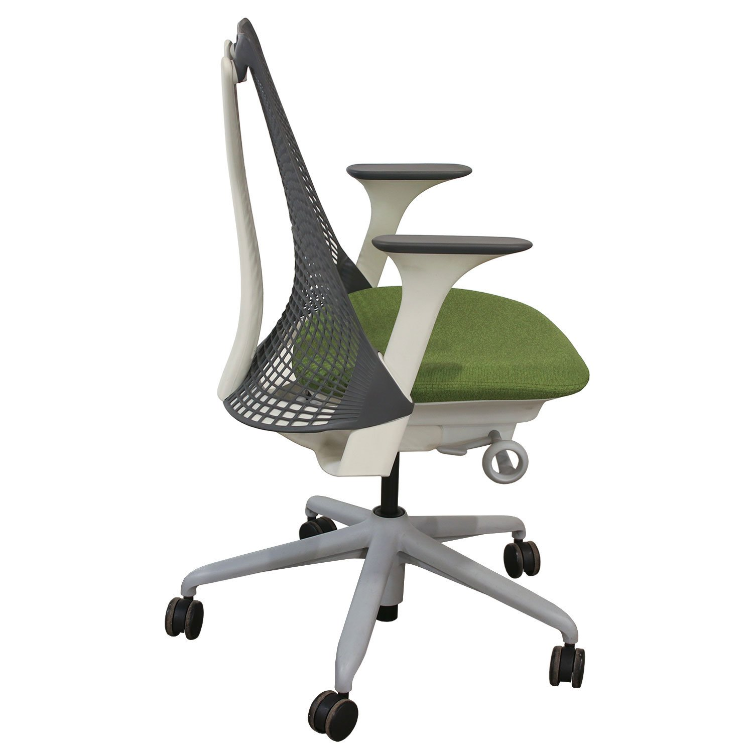 Herman Miller Sayl Used Conference Chair Gray Back And
