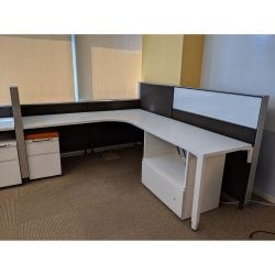 Herman Miller 6x6 Used Canvas Stations - sold in rows