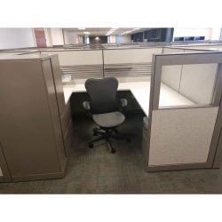 6 x 8 Ethospace Used Cubicles by Herman Miller - Sold in Pods
