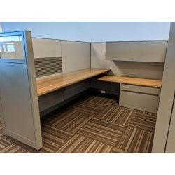 Steelcase Answer 6x8 Used Cubicle Sold in Rows