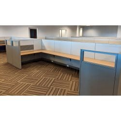 Steelcase Answer 8x6 Buddy Station Used Cubicle - Sold in Rows