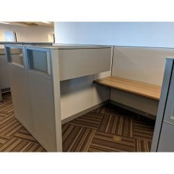 Steelcase Answer 8x6 Used Cubicle - Sold in Rows