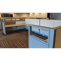 Steelcase Answer 8x8 Buddy Station Used Cubicle - Sold in Pods