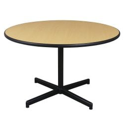 Steelcase Used 48 Inch Round Meeting Table Maple