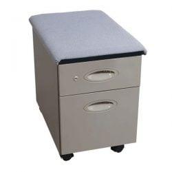 Steelcase Used Mobile Box File Pedestal Gray