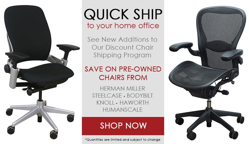Quick Ship Office Chairs for Home Offices