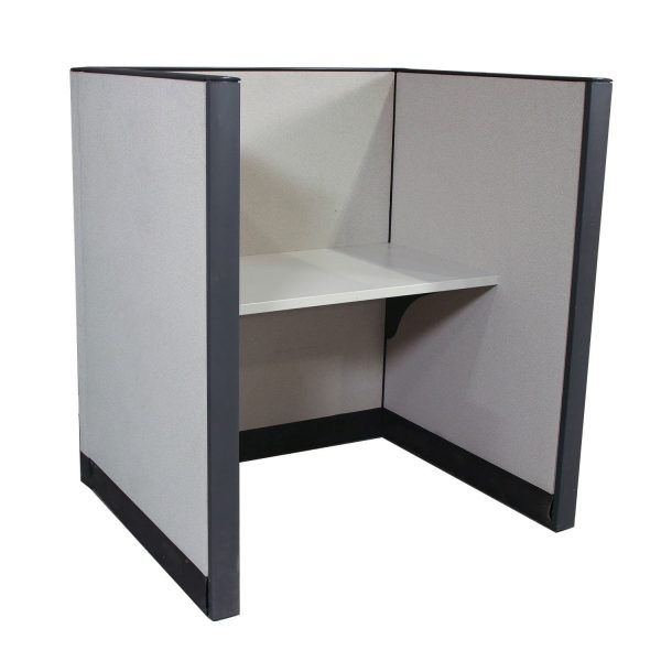 3.5'x3' Premise Used Telemarketing Station By Haworth, Sold in Pods - No Power
