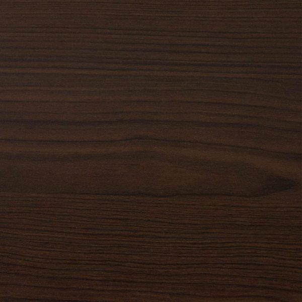 Everyday Glass Top Laminate Reception Desk, Espresso