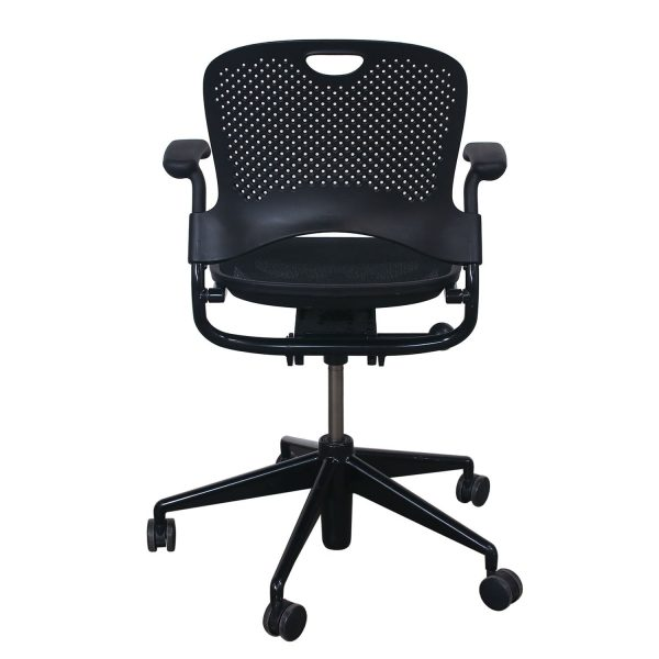 Herman Miller Caper Used Mobile Conference Chair, Black