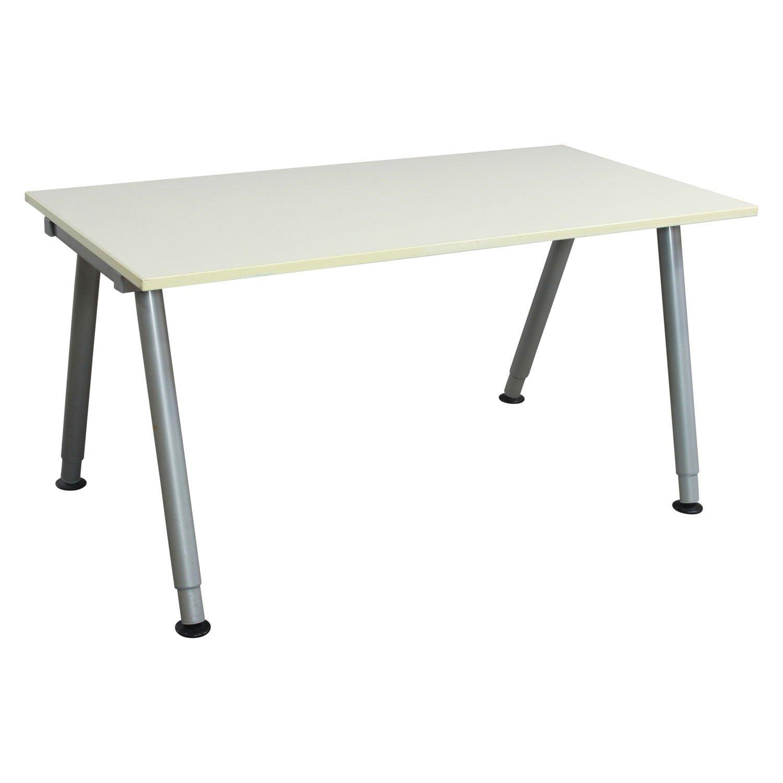 Ikea Galant Used 23 5x47 Adjustable Height Table White National Office Interiors And Liquidators