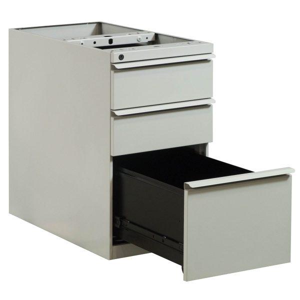 Knoll Used Box Box File Pedestal, Putty