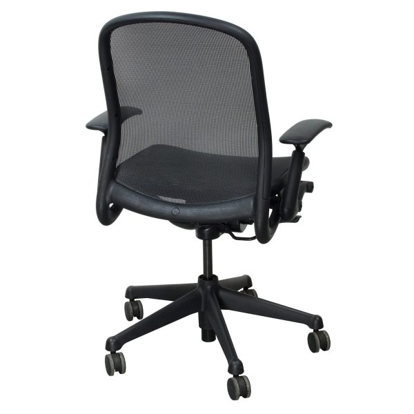 Knoll Chadwick Used Task Chair, Black