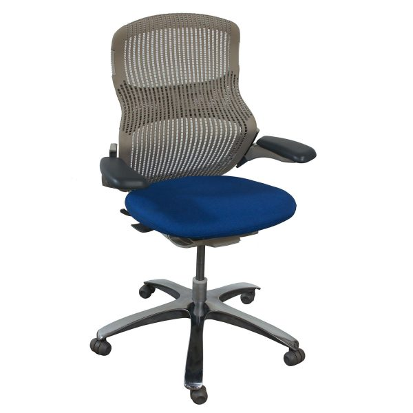 Knoll Generation Used Task Chair, Electric Blue