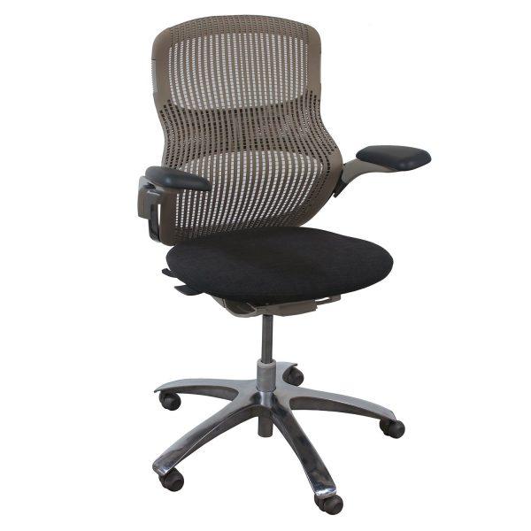 Knoll Generation Used Task Chair, Smoke
