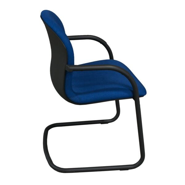 Knoll RPM Used Side Chair, Electric Blue